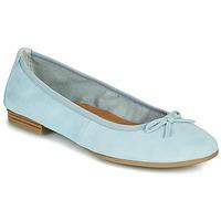 Schuhe Damen Ballerinas Tamaris ALENA Blau