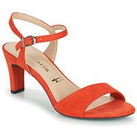 Schuhe Damen Sandalen / Sandaletten Tamaris MELIAH Rot
