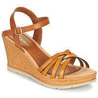 Schuhe Damen Sandalen / Sandaletten Tamaris SLOB Safran