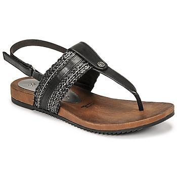 Schuhe Damen Sandalen / Sandaletten Tamaris LOCUST Schwarz