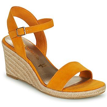 Schuhe Damen Sandalen / Sandaletten Tamaris LIVIAN Gelb