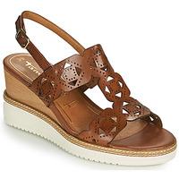 Schuhe Damen Sandalen / Sandaletten Tamaris ALIS Cognac