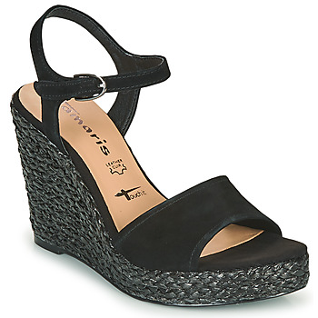 Schuhe Damen Sandalen / Sandaletten Tamaris CYNARA Schwarz