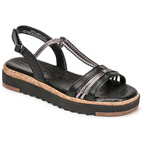 Schuhe Damen Sandalen / Sandaletten Tamaris BENNA Schwarz