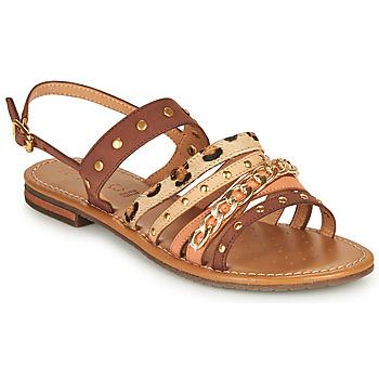 Schuhe Damen Sandalen / Sandaletten Geox D SOZY S I Braun / Beige