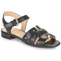 Schuhe Damen Sandalen / Sandaletten Geox D WISTREY SANDALO C Schwarz
