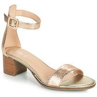 Schuhe Damen Sandalen / Sandaletten Geox D SOZY MID E Gold
