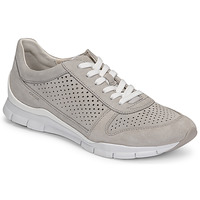 Schuhe Damen Sneaker Low Geox D SUKIE B Grau