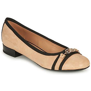 Schuhe Damen Ballerinas Geox D WISTREY D Beige / Schwarz