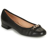 Schuhe Damen Ballerinas Geox D WISTREY D Schwarz