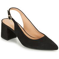 Schuhe Damen Pumps Geox D BIGLIANA A Schwarz