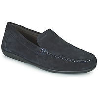 Schuhe Herren Slipper Geox U ASCANIO A Marine