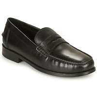 Schuhe Herren Slipper Geox U NEW DAMON B Schwarz