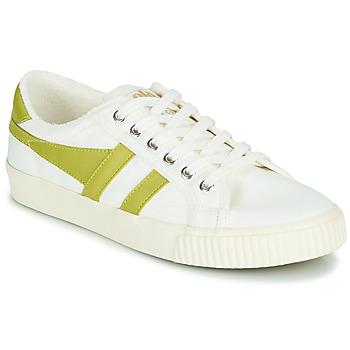 Schuhe Damen Sneaker Low Gola TENNIS MARK COX Weiss / Gelb