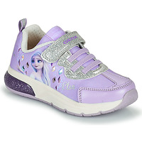 Schuhe Mädchen Sneaker Low Geox SPACECLUB GIRL Violett