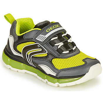 Schuhe Jungen Sneaker Low Geox J ANDROID BOY B Grau / Grün