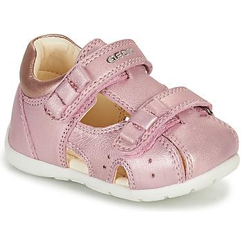 Schuhe Mädchen Sandalen / Sandaletten Geox KAYTAN Rose