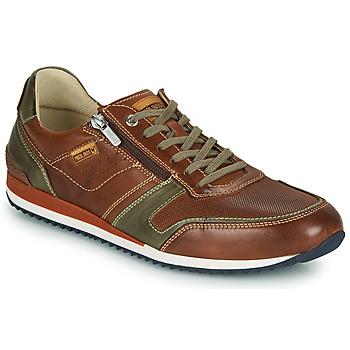 Schuhe Herren Sneaker Low Pikolinos LIVERPOOL M2A Braun