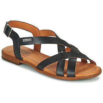 Schuhe Damen Sandalen / Sandaletten Pikolinos ALGAR W0X Schwarz