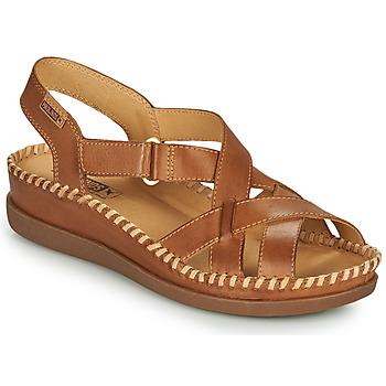 Schuhe Damen Sandalen / Sandaletten Pikolinos CADAQUES W8K Braun
