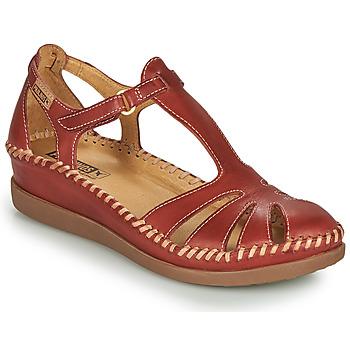 Schuhe Damen Sandalen / Sandaletten Pikolinos CADAQUES W8K Rot