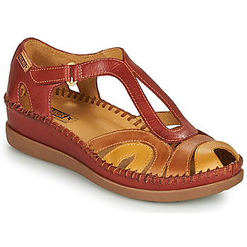 Schuhe Damen Sandalen / Sandaletten Pikolinos CADAQUES W8K Rot / Beige