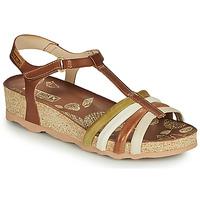 Schuhe Damen Sandalen / Sandaletten Pikolinos MAHON W9E Braun / Weiss