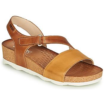 Schuhe Damen Sandalen / Sandaletten Pikolinos MAHON W9E Braun