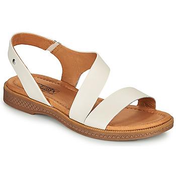 Schuhe Damen Sandalen / Sandaletten Pikolinos MORAIRA W4E Weiss