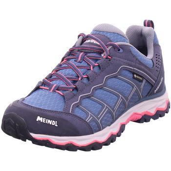 Schuhe Wanderschuhe Meindl Prisma graphit/pink