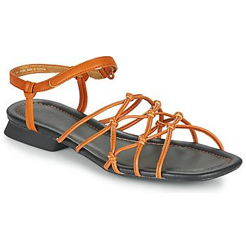 Schuhe Damen Sandalen / Sandaletten Camper CASI MYRA SANDAL Braun