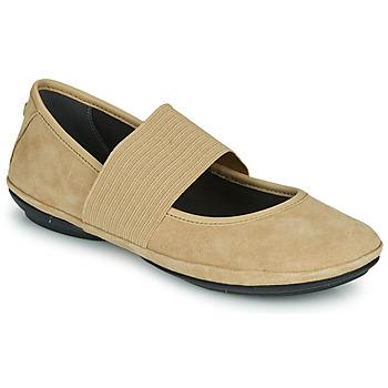 Schuhe Damen Ballerinas Camper RIGHT NINA Beige