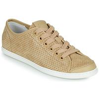 Schuhe Damen Sneaker Low Camper UNO Beige