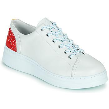 Schuhe Damen Sneaker Low Camper RUNNER UP Weiss / Rot