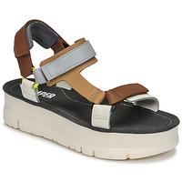 Schuhe Damen Sandalen / Sandaletten Camper ORUGA UP Braun / Grau