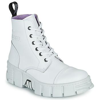 Schuhe Boots New Rock M-WALL005-C1 Weiss