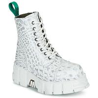 Schuhe Boots New Rock M-MILI083C-V9 Weiss