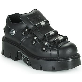 Schuhe Derby-Schuhe New Rock M-233-C3 Schwarz