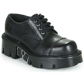 Schuhe Derby-Schuhe New Rock M-NEWMILI03-C3 Schwarz
