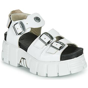 Schuhe Damen Sandalen / Sandaletten New Rock M-BIOS101-C3 Weiss