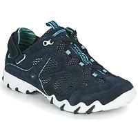 Schuhe Damen Sneaker Low Allrounder by Mephisto NIWA Blau