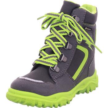Schuhe Kinder Stiefel Legero Schuh Textil \ HUSKY1 GRAU/GRÜN 2