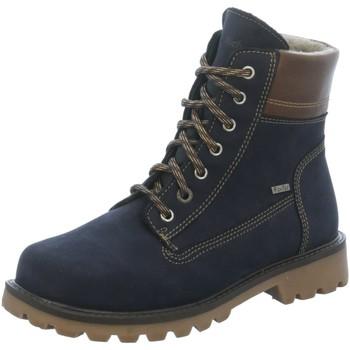 Schuhe Mädchen Stiefel Richter Schnuerstiefel 8682 8151 7201 blau