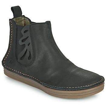 Schuhe Damen Low Boots El Naturalista PLEASENT Schwarz