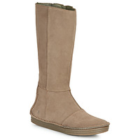 Schuhe Damen Klassische Stiefel El Naturalista LUX Braun
