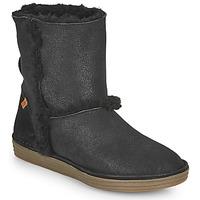 Schuhe Damen Klassische Stiefel El Naturalista LUX Schwarz