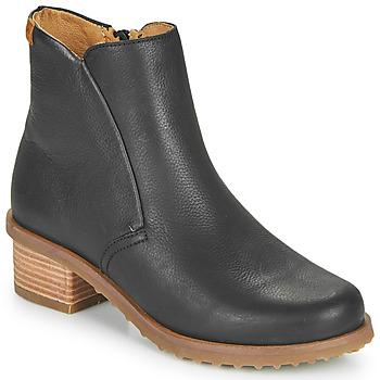 Schuhe Damen Low Boots El Naturalista SOFT Schwarz