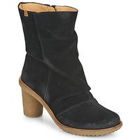 Schuhe Damen Low Boots El Naturalista LUX Schwarz