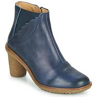 Schuhe Damen Low Boots El Naturalista IRIS Blau