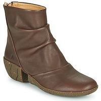 Schuhe Damen Low Boots El Naturalista SOFT Braun